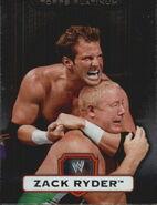2010 WWE Platinum Trading Cards Zack Ryder 60