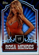 2011 Topps WWE Classic Wrestling Rosa Mendes 58