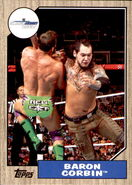 2017 WWE Heritage Wrestling Cards (Topps) Baron Corbin 41