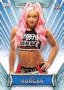 2019 WWE Women's Division (Topps) Liv Morgan 7