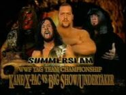 Big Show And Undertaker Vs Kane And X-pac