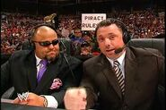 Michael Cole and Tazz