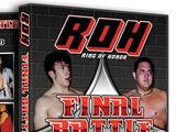 ROH Final Battle 2002