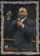2004 WWE Chaos (Fleer) Theodore Long 35