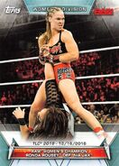 2019 WWE Women's Division (Topps) Ronda Rousey 95