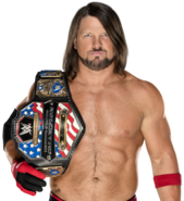 Aj styles u s champion by nibble t-dbhp09h