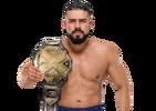 Andrade Cien Almas WWE NXT Championship