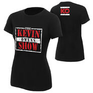 Kevin Owens The Kevin Owens Show Women's Authentic T-Shirt