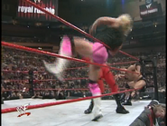 Royal Rumble 2000 Kane eliminates Billy Gunn