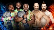 SSD 2018 The New Day v The Bar