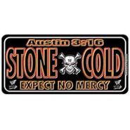 Stone Cold Crossbones License Plate