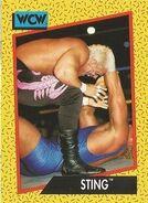 1991 WCW (Impel) Sting 6