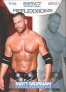 2012 TNA Impact Wrestling Reflexxions Trading Cards (Tristar) Matt Morgan 40
