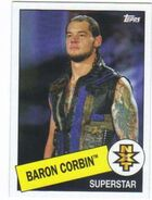 2015 WWE Heritage Wrestling Cards (Topps) Baron Corbin 102