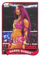 2018 WWE Heritage Wrestling Cards (Topps) Sasha Banks 69