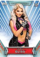 2019 WWE Women's Division (Topps) Alexa Bliss 1