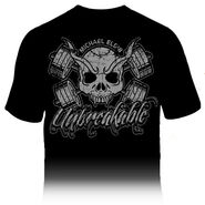 Michael Elgin Unbreakable skull T-Shirt