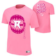 Ryback Rise Above Cancer Pink Authentic T-Shirt