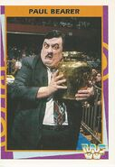 1995 WWF Wrestling Trading Cards (Merlin) Paul Bearer 119