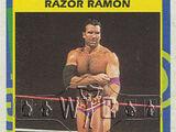 1995 WWF Wrestling Trading Cards (Merlin) Razor Ramon (No.171)