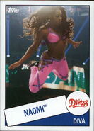 2015 WWE Heritage Wrestling Cards (Topps) Naomi 58
