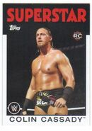 2016 WWE Heritage Wrestling Cards (Topps) Colin Cassady 63