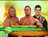 Chris Jericho vs. Chris Benoit Summerslam 2000