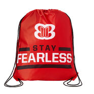 Nikki Bella Stay Fearless Drawstring Bag