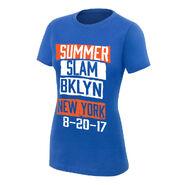 SummerSlam 2017 BKLYN Blue Women's T-Shirt