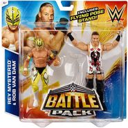 WWE Battle Packs 33 Rob Van Dam & Rey Mysterio