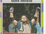 1995 WWF Wrestling Trading Cards (Merlin) Duke Droese (No.137)