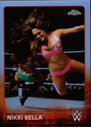 2015 Chrome WWE Wrestling Cards (Topps) Nikki Bella 50