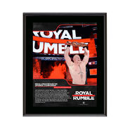 Brock Lesnar Royal Rumble 2018 10 x 13 Commemorative Photo Plaque