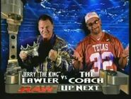 Jerry Lawler vs The Coach