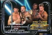 Los Guerreros vs. The World's Greatest Tag Team