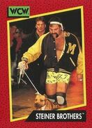 1991 WCW (Impel) Steiner Brothers 103