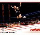 2013 WWE (Topps) Brodus Clay (No.6)