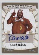 2016 Leaf Signature Series Wrestling Kamala 41