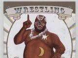 2016 Leaf Signature Series Wrestling Kamala (No.41)