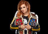 Becky Lynch Raw SD Womens Champion