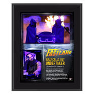 Bray Wyatt 2015 Fastlane 10 x 13 Photo Collage Plaque