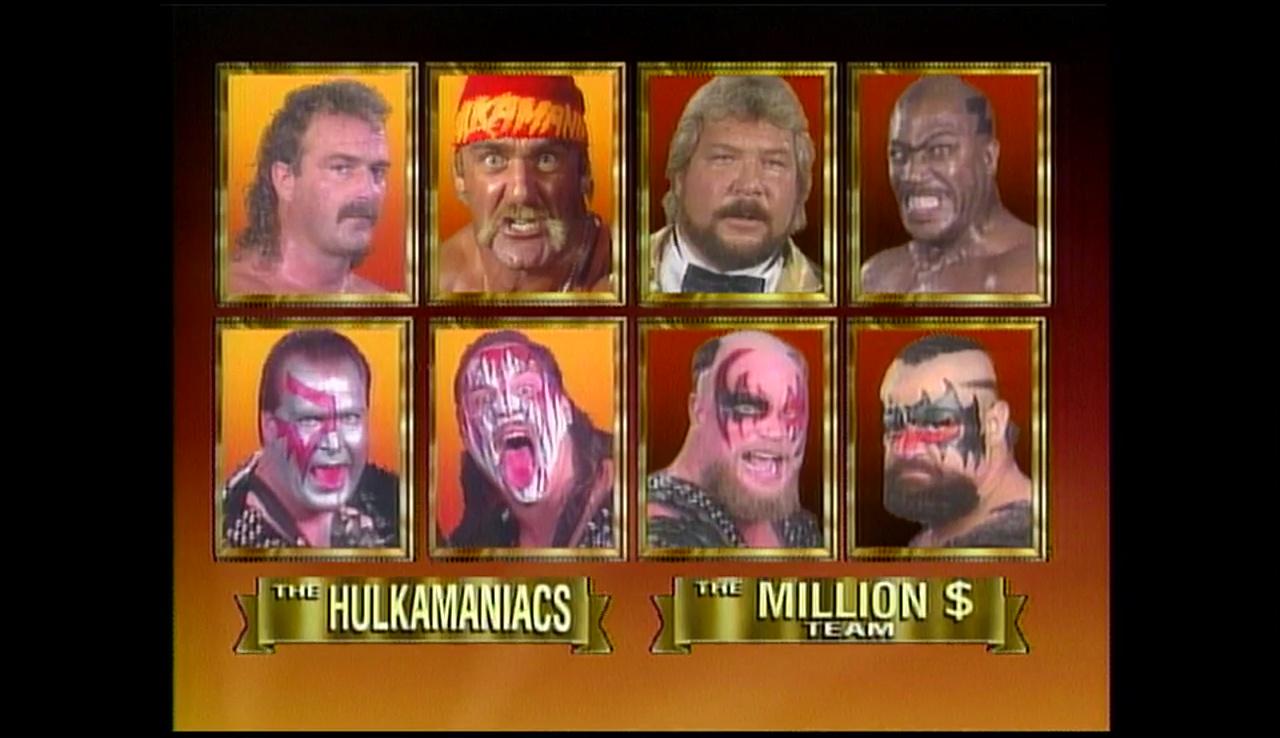 Team Hogan vs The Million Dollar Team