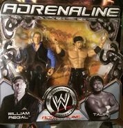 WWE Adrenaline Series 14 William Regal & Taijiri