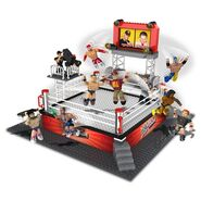 WWE Arena StackDown Playset