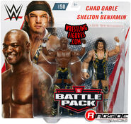 WWE Battle Packs 58 Shelton Benjamin & Chad Gable