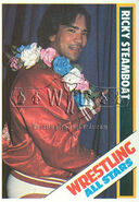 1985 Wrestling All Stars Trading Cards Ricky Steamboat 33