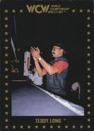 1991 WCW Collectible Trading Cards (Championship Marketing) Teddy R. Long 107