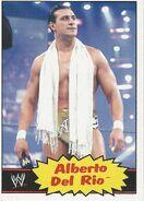 2012 WWE Heritage Trading Cards Alberto Del Rio 3