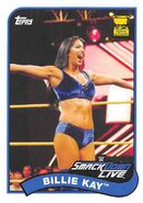 2018 WWE Heritage Wrestling Cards (Topps) Billie Kay 95