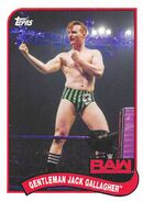 2018 WWE Heritage Wrestling Cards (Topps) Gentleman Jack Gallagher 29